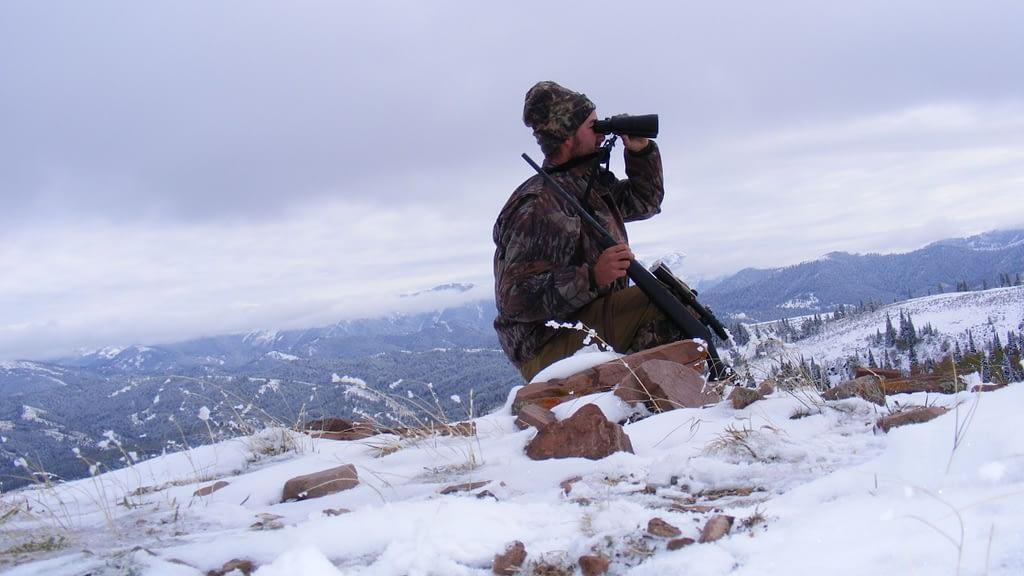 Elk hunting optics