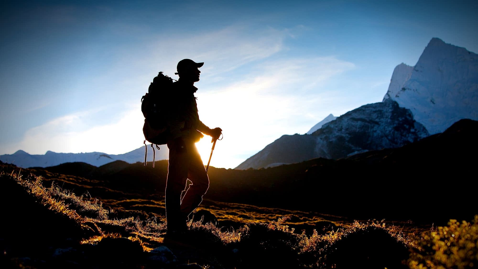 hunting with trekking poles