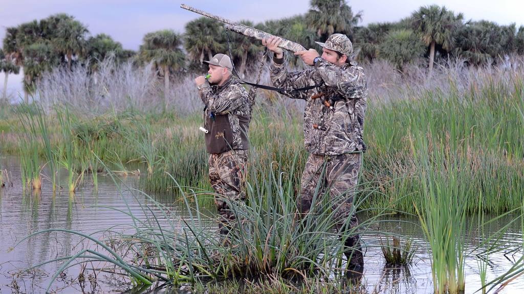 pass shooting ducks